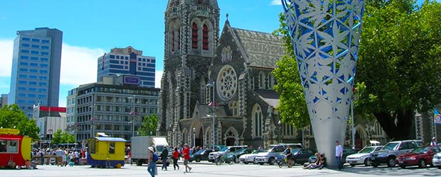 Christchurch Auckland